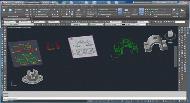 Practical Course AutoCAD 3D video tutorials